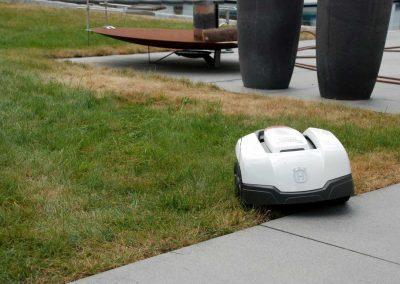 Bild von Mähroboter Installation Husqvarna Automower 105