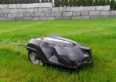 Bild von Mähroboter Installation Husqvarna Automower 420