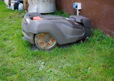 Bild von Mähroboter Installation Husqvarna Automower 430X