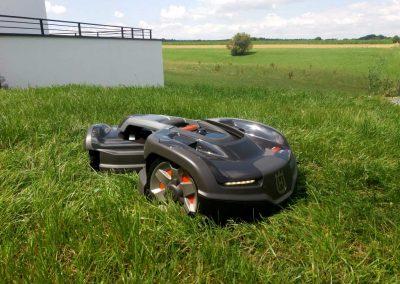 Bild von Mähroboter Installation Husqvarna Automower 435X AWD